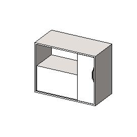 MyStore Desk End Unit